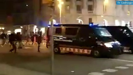 Barcelona staat in brand na straffen Catalaanse leiders