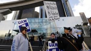 Stakingen bij General Motors gaan door ondanks voorlopig cao-akkoord