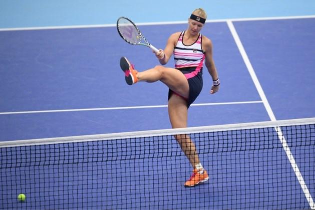 Bencic kaapt laatste WTA Finals-ticket weg voor de neus van Bertens