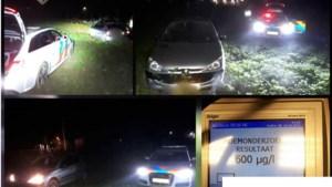 Politieachtervolging eindigt in grasveld, 29-jarige man aangehouden