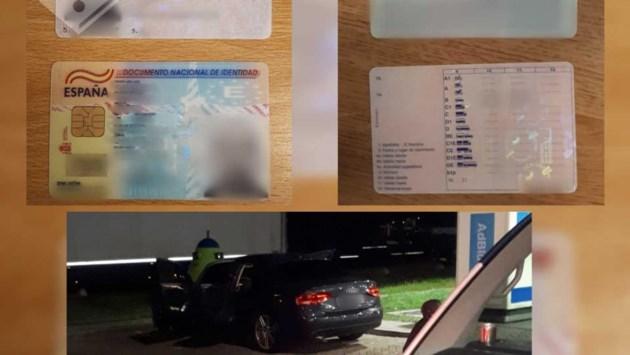 Man met valse papieren aangehouden op A2