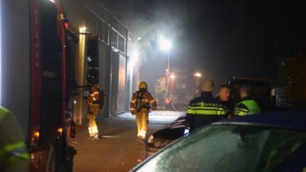 Video: Grote brand in garagebedrijf Brunssum