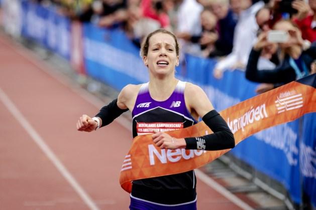 Maastrichtse marathonloopster Bo Ummels Nederlands kampioen bij debuut