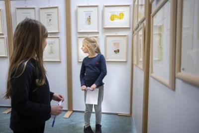 Kinderen kiezen de laatste keer zelf kunst