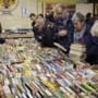 Boekenbeurs Roermond: 'Spuit nooit parfum op een muf boek'
