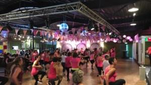 Nieuw recordopbrengst Zumba Marathon voor onderzoek borstkanker