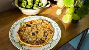 Wat eten we vandaag? Herfstquiche met paddenstoelen van Hadassa uit Maastricht