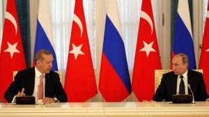 Overleg tussen Poetin en Erdogan: er moet gepraat worden, en rap ook
