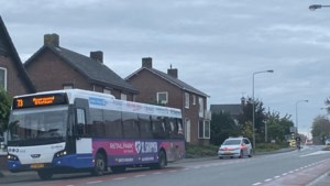 Fietser raakt gewond bij aanrijding met bus