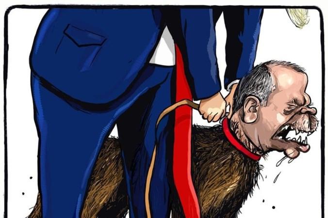 Spotprent Maastrichtse cartoonist geblokkeerd op Facebook in Turkije