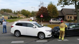Automobilist gewond na frontale aanrijding in Maasbracht