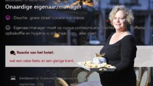 Hotelbaas bijt van zich af en noemt klanten 'zuurpruim' of 'gierige krent'