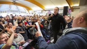 Volkszanger Frans Bauer maakt van Makado een klein Ahoy: 'Hij is zo'n mooie jongen'