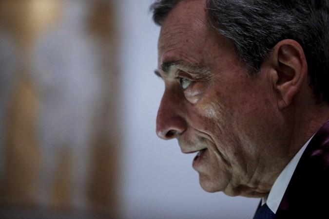 Mario Draghi, redder van de euro... ...sloper van onze pensioenen