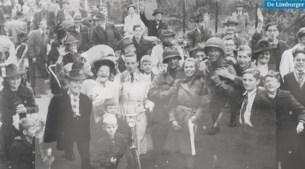 Week 7 van de Limburgse bevrijding: Terugkerende evacués Kerkrade treffen puinhoop aan