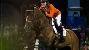Aniek Poels en Athene op Jumping Indoor Maastricht