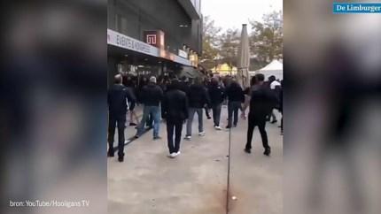 Video: Ruim 30 aanhoudingen in Bern rond wedstrijd Feyenoord