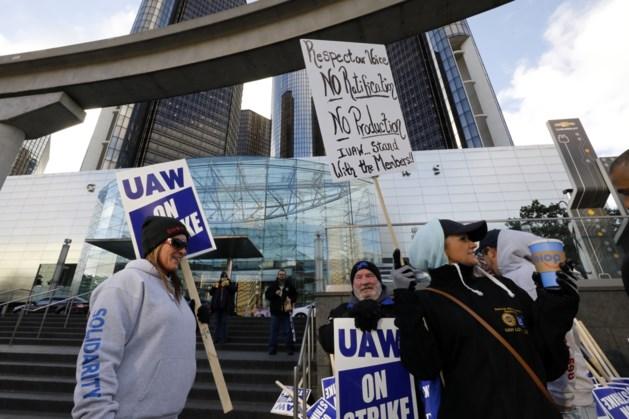 Stakingen bij autoreus GM beëindigd na akkoord met vakbond
