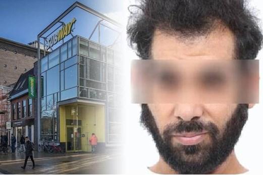 Verdachte bioscoopmoord zat urenlang in Subway naast Pathé (en werd broodjeszaak uitgezet)