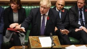Johnson neemt eerste horde in Brits Lagerhuis naar vervroegde verkiezingen