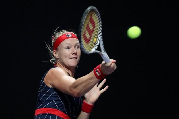 Bertens verslaat nummer 1 van de wereld op WTA Finals