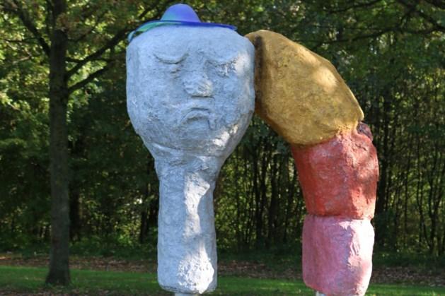 Nieuw kunstwerk in Kuurpark op de Cauberg