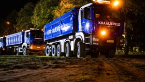 Al vroeg files op Limburgse wegen door protest bouwpersoneel