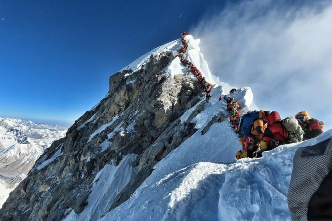 Beklimmers Mount Everest bijeen in Heerlen: 'Het angstbeeld is ook wel over de top'