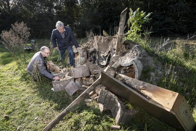 Vandalen vernielen insectenhotel in Wessem: 'Dit is zo zinloos'