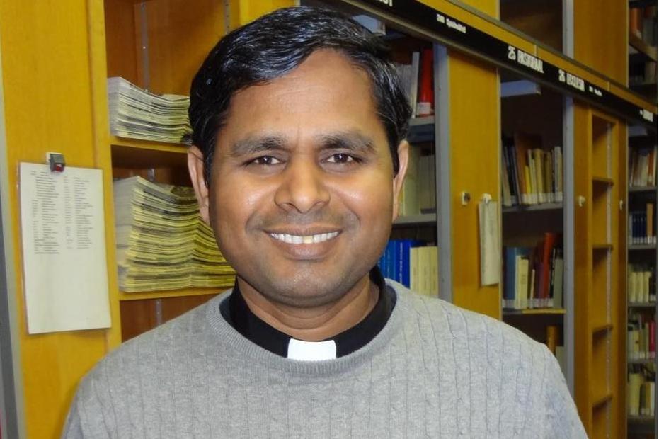 Amalraj Arockiam is de nieuwe pastoor voor cluster Stramproy - De Limburger