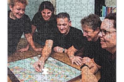 Michel uit Sint Odiliënberg is al 19 jaar bezig aan een legpuzzel van 9000 stukjes