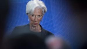 Lagarde zit voorlopig vast in het keurslijf dat Draghi naliet