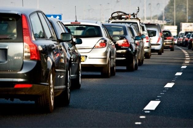 Ongeval met vier auto's op A76; linkerrijstrook dicht