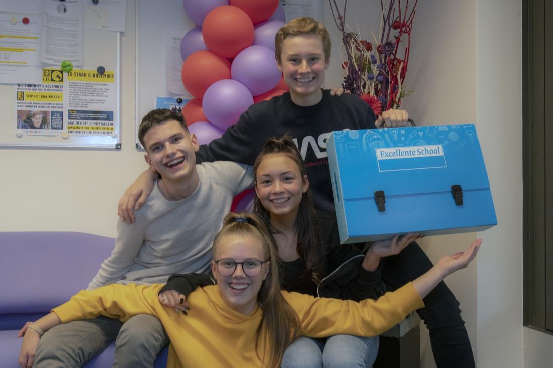 Team Broekland College neemt het in finale jeugddebat op tegen Mark Rutte - De Limburger