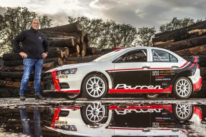 Haelense rallykampioen Lambert Parren hoeft niet zo nodig zijn bolide total-loss te rijden