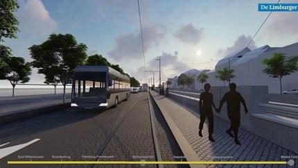 Video: Zo rijdt de sneltram straks door Maastricht