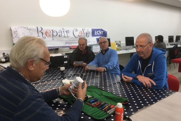 RepairCafé Echt vestigt aandacht op Maand van de Duurzaamheid