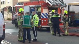 Uitslaande brand: schuur gaat in vlammen op