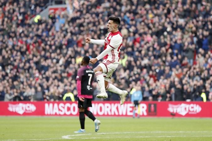 Ajax dendert ook over FC Utrecht heen