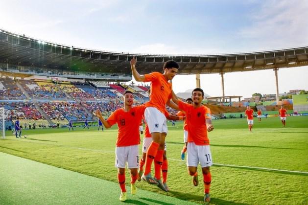 Oranje onder 17 naar halve finale WK voetbal