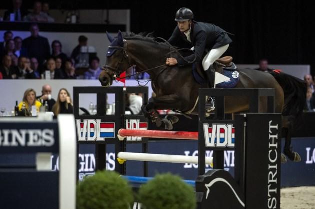 Formidabele Leopold van Asten grijpt net naast de winst op Jumping Indoor Maastricht