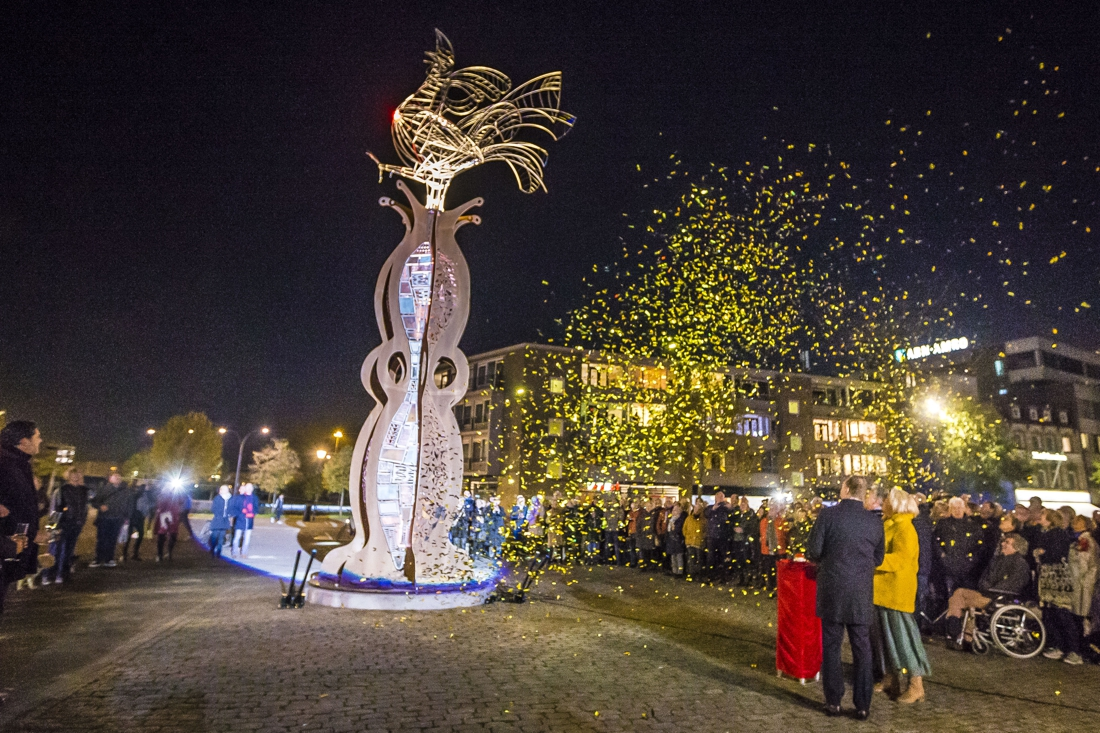 Kunstwerk D'n Haan heet bezoekers van Venlo voortaan welkom - De Limburger
