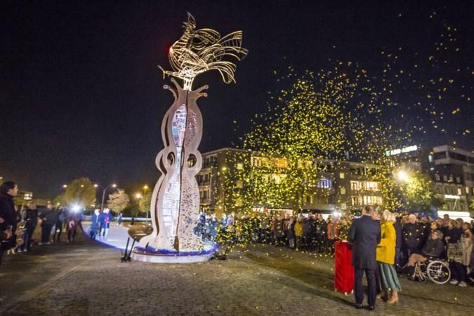 Kunstwerk D'n Haan heet bezoekers van Venlo voortaan welkom