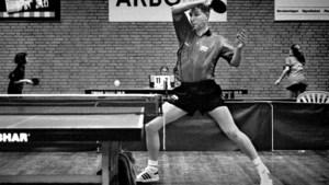 Tafeltennis-dino Ronald Bogaard overleefde de balletjes van celluloid