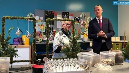 Video: Minister Slob uitgenodigd op kinderfeestje van Sophie uit Blerick