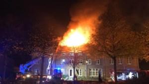 Uitslaande brand in beoogd asielzoekerscentrum Bilzen