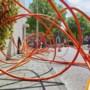 Graafwerkzaamheden voor koppeling KPN wijkkasten