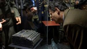 De Enigma, een legendarisch oorlogsobject achter glas in Beek