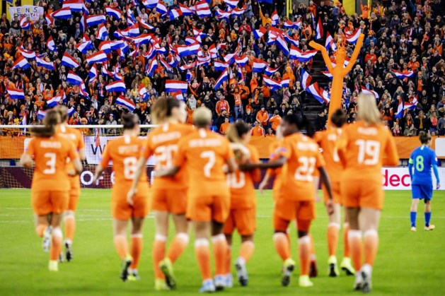 Voetbalsters blijven winnen in EK-kwalificatie