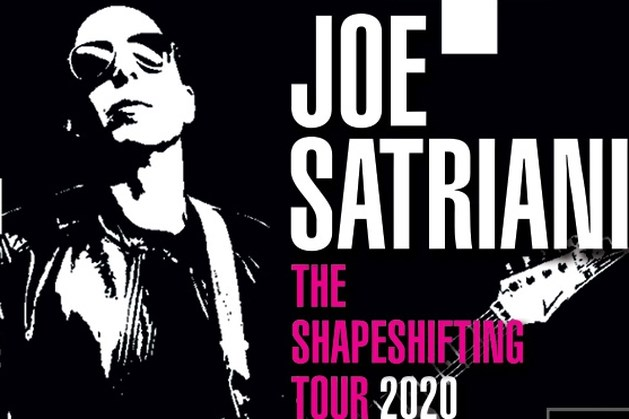 Joe Satriani in mei naar Heerlen